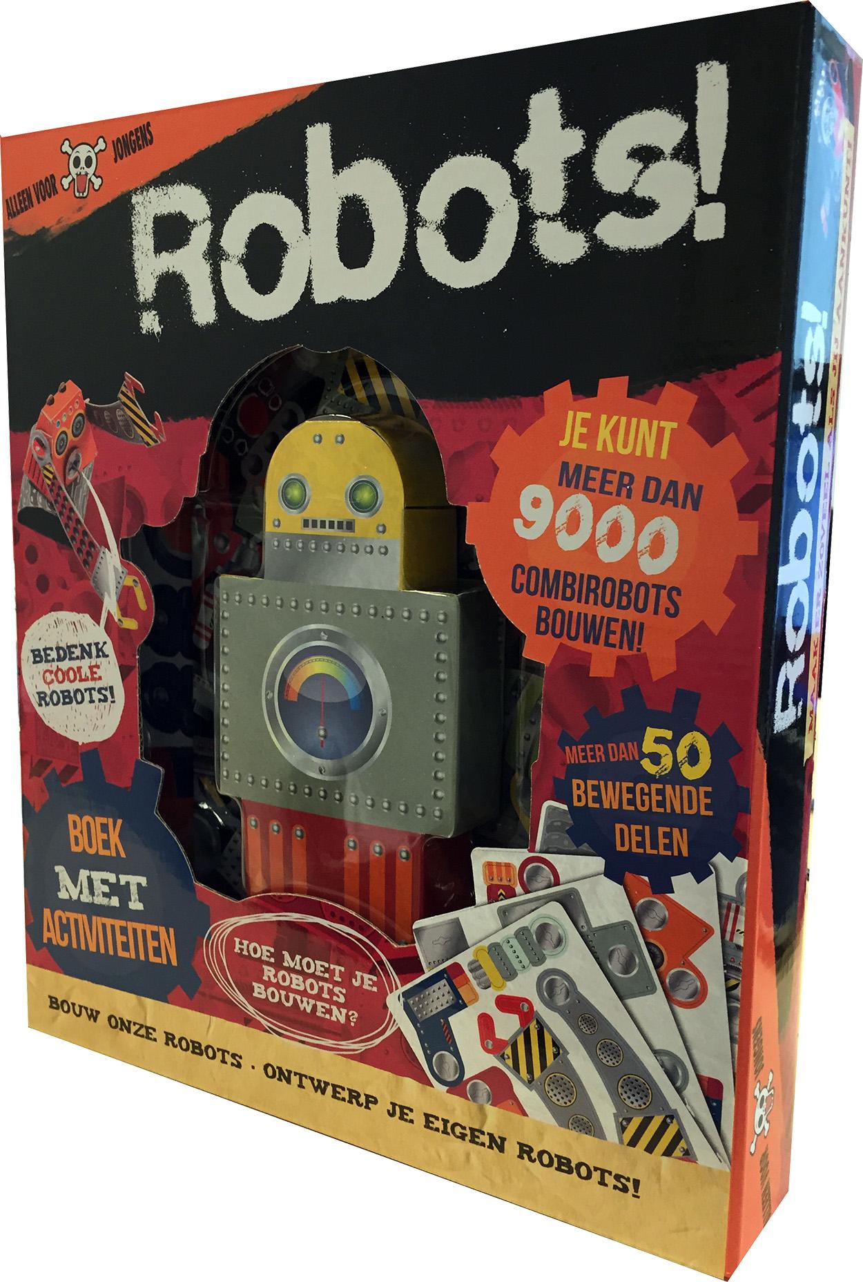 Robots! Bouw-ontwerp je eigen robot