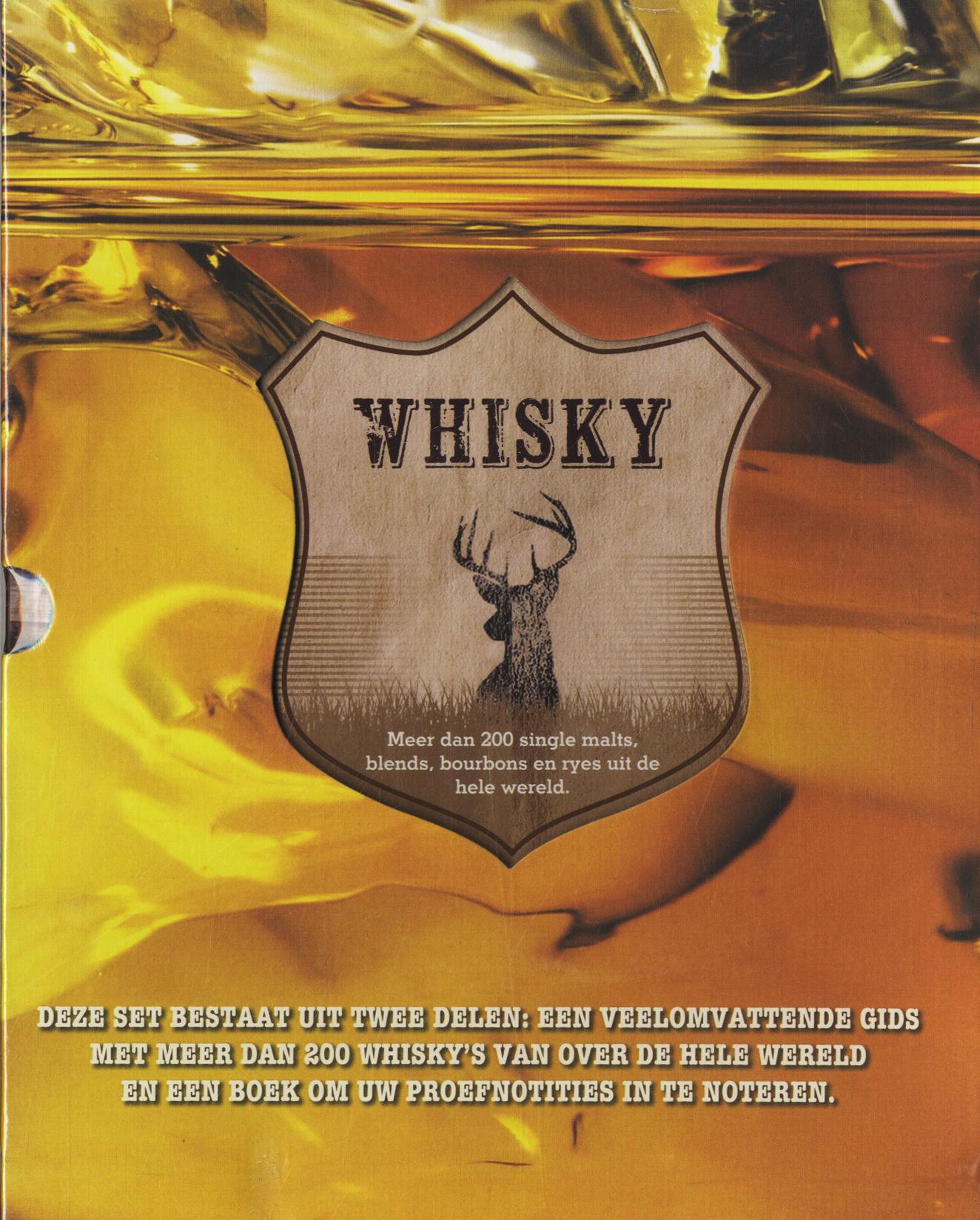 Whisky Boek en Proefnotitie