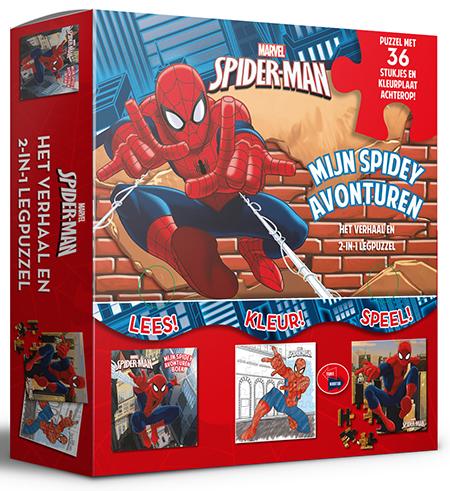 Marvel Spider-man Spidey avonturen