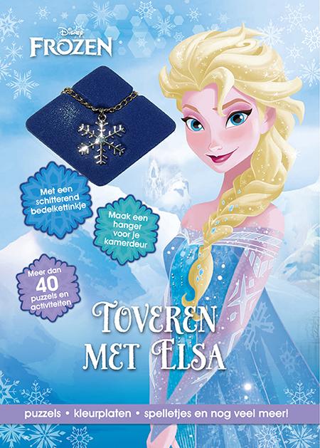 Disney Frozen toveren Elsa+ketting