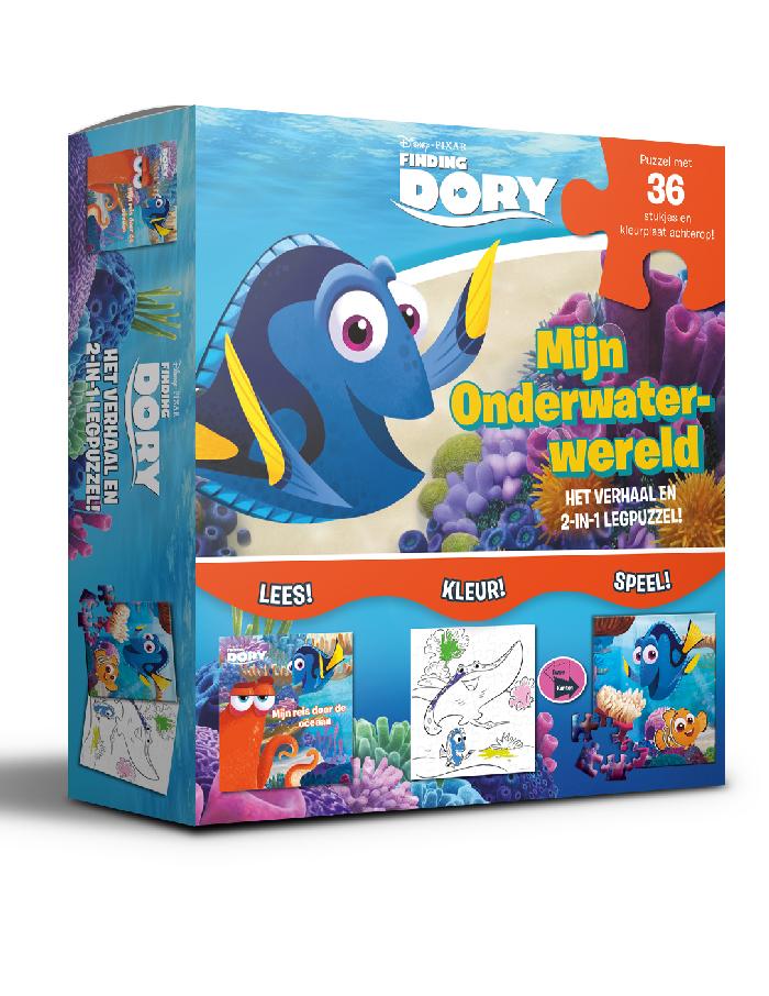 Disney Dory puzzle onderwaterwer.
