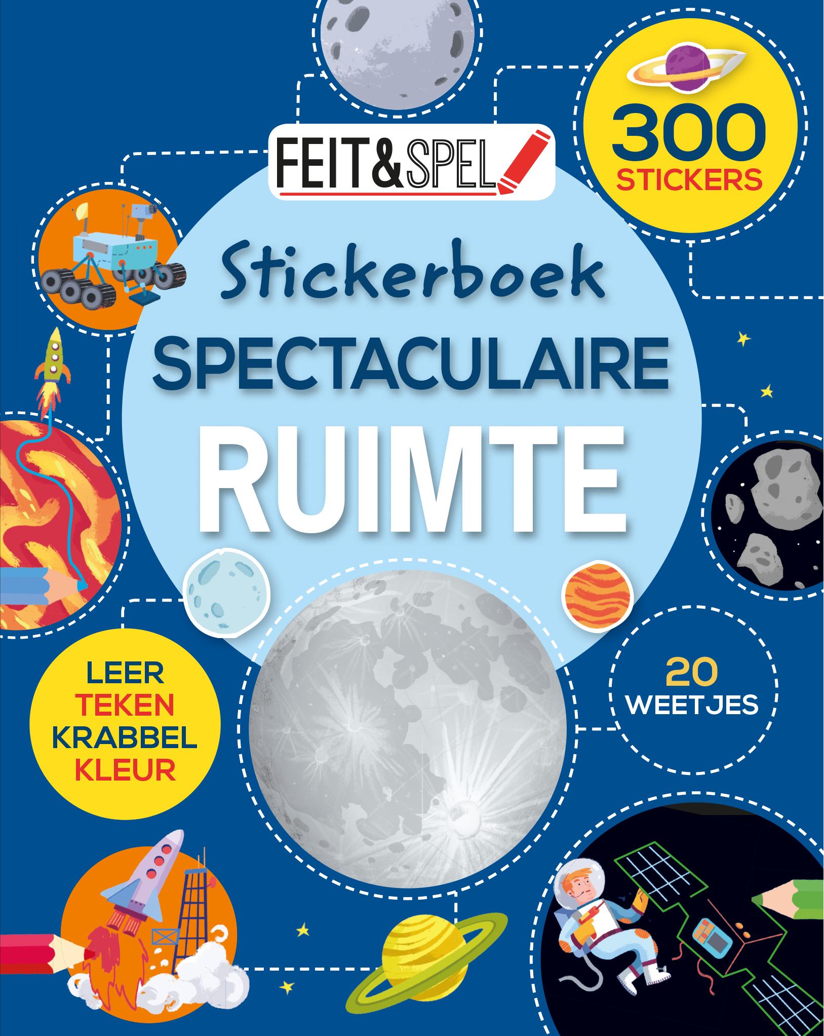 Feit & spel Stickerb. Spect.ruimte