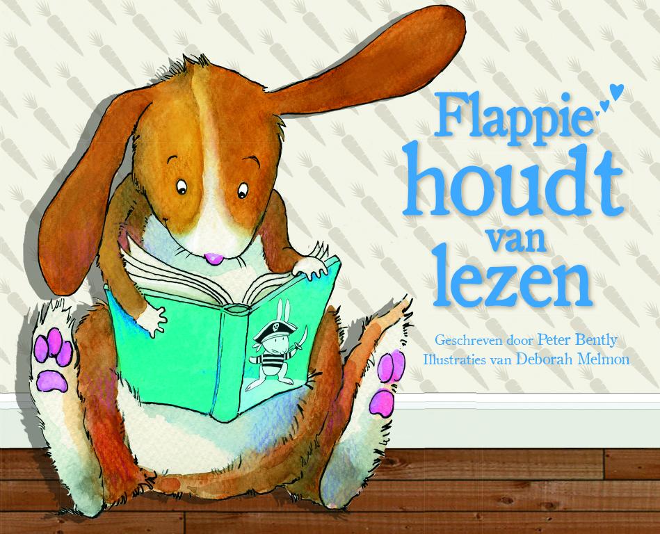 Flappie houdt van lezen, karton