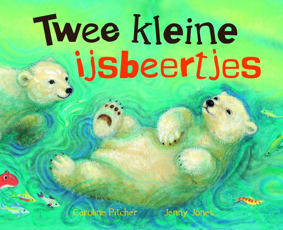 Twee kleine ijsbeertjes, karton