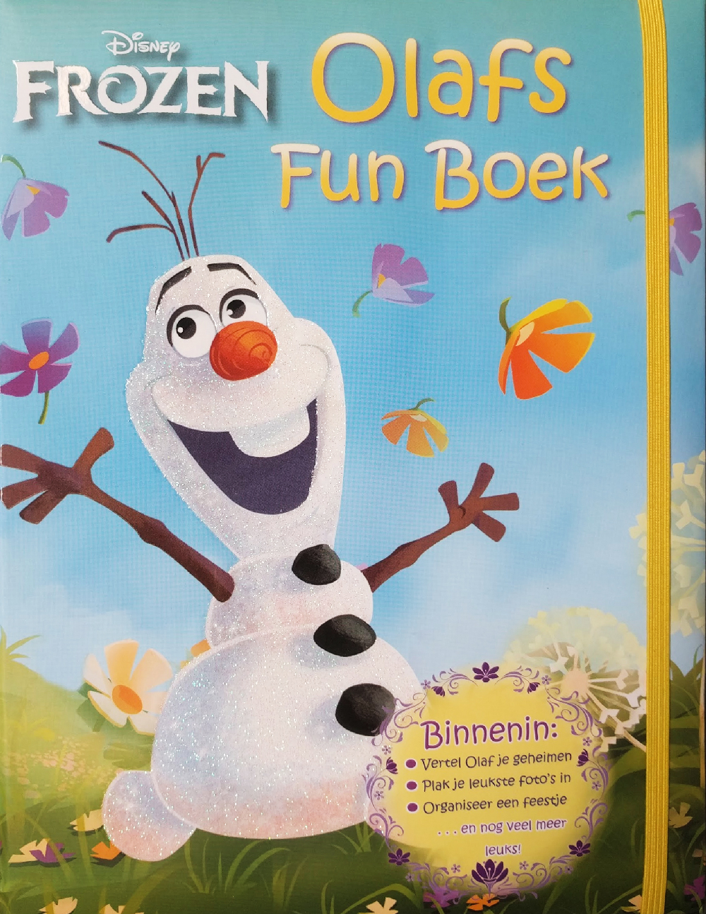 Disney Frozen Olafs funboek