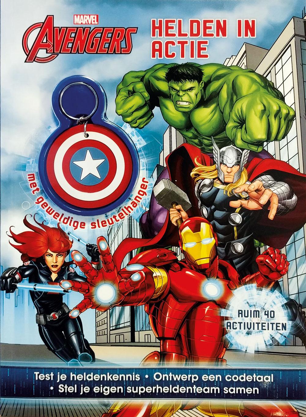 Marvel Avengers Helden in actie act