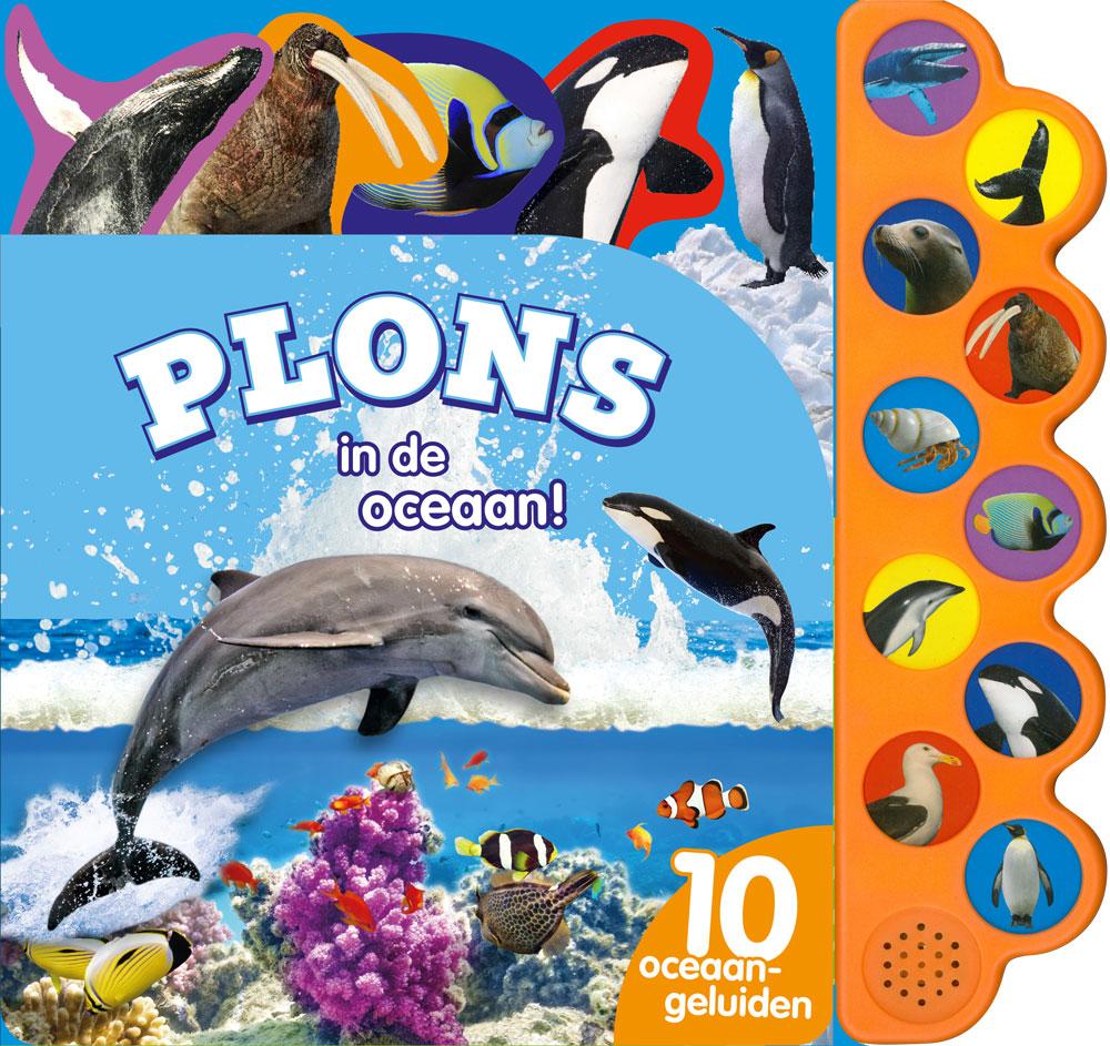 Geluidboek Plons in de oceaan 10gel