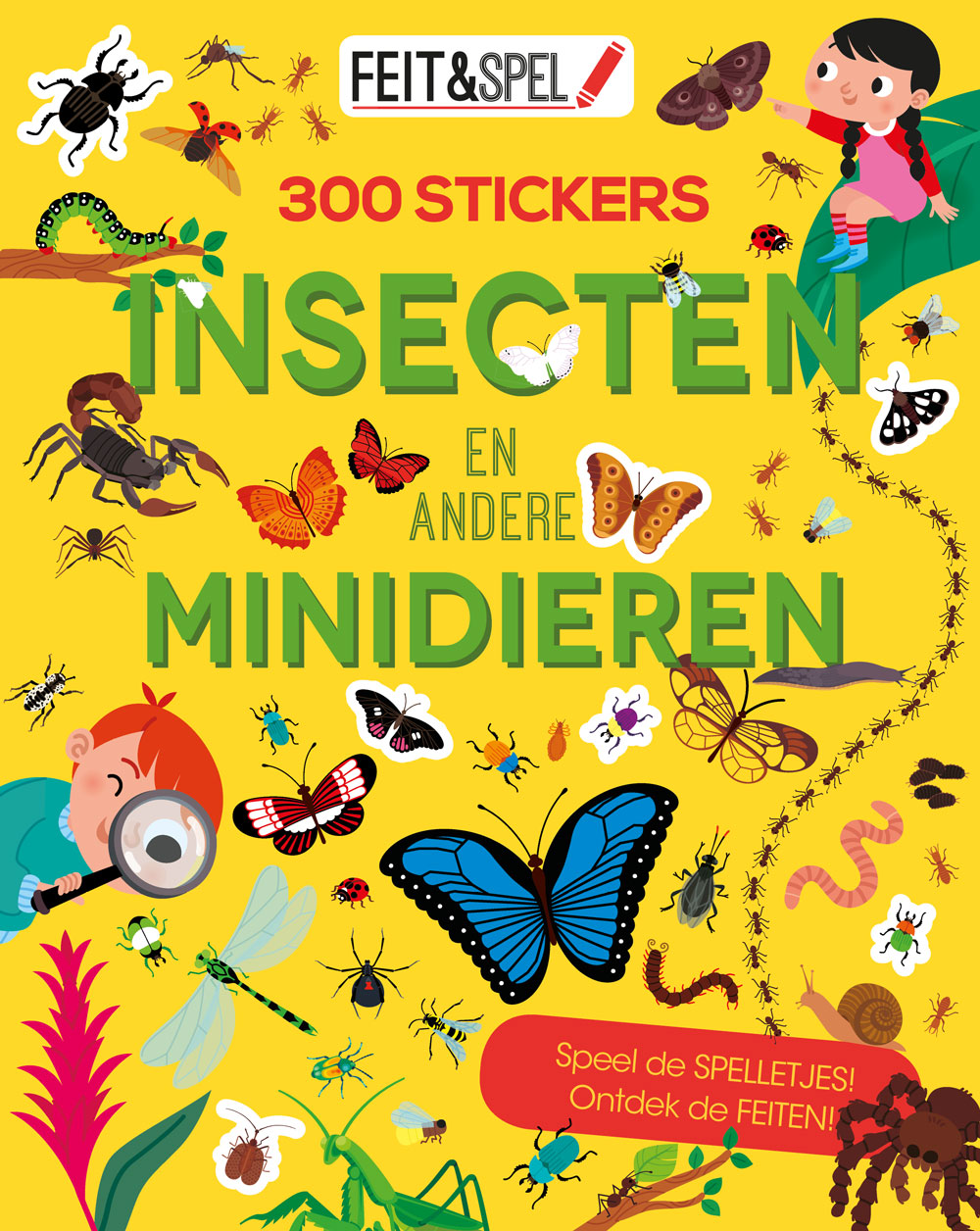 Feit & spel 300 stick. Insec-mini