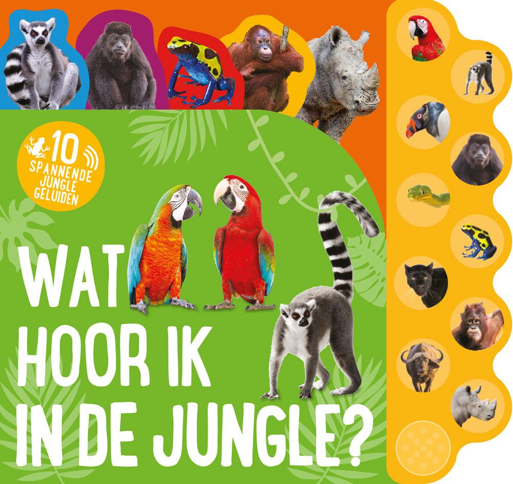 Geluidboek Wat hoor ik in de jungle
