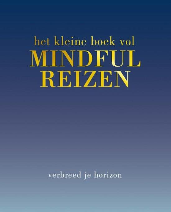 Kleine boek vol Mindful reizen