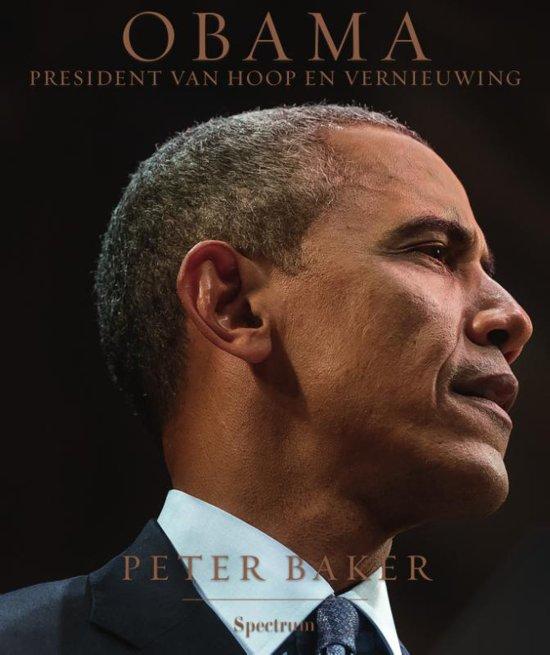Obama, president van hoop en vern.