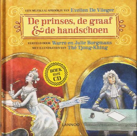 Prinses, de graaf en handschoen+CD