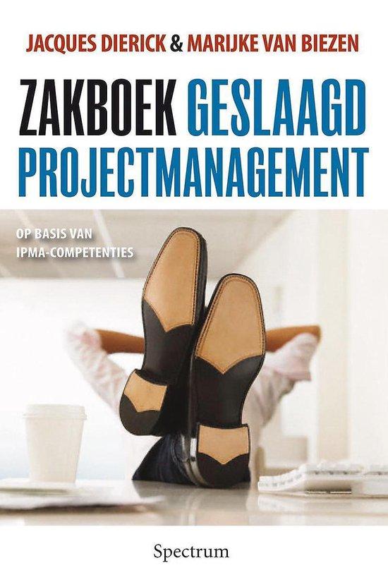 Zakboek geslaagd projectmanagement
