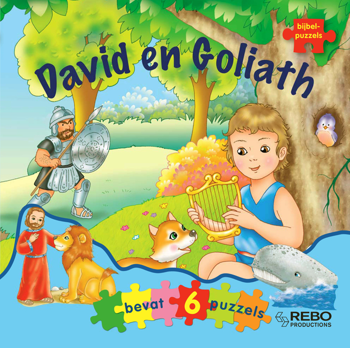 David en Goliath - bijbelpuzzelboek