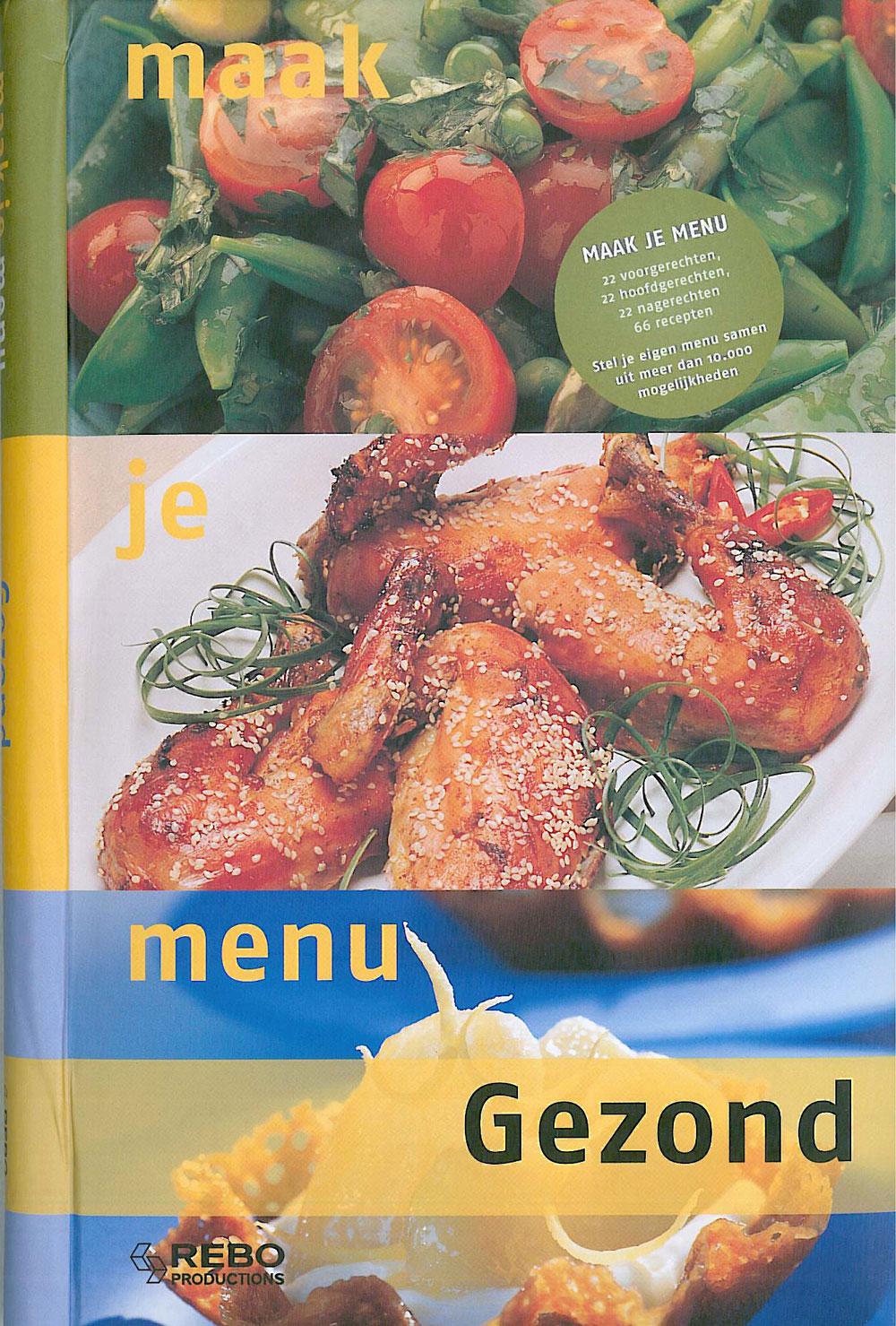 Gezond - Maak je menu