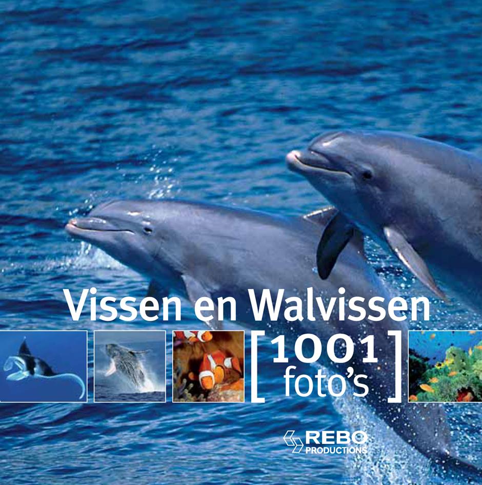 1001 foto's Vissen en walvissen