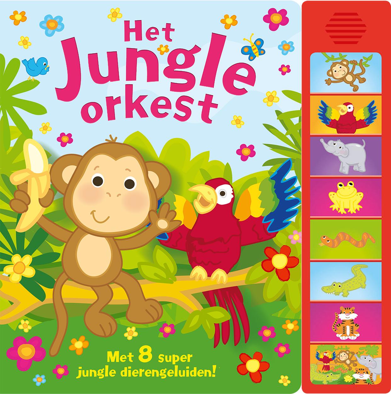 Geluidboek Jungle orkest
