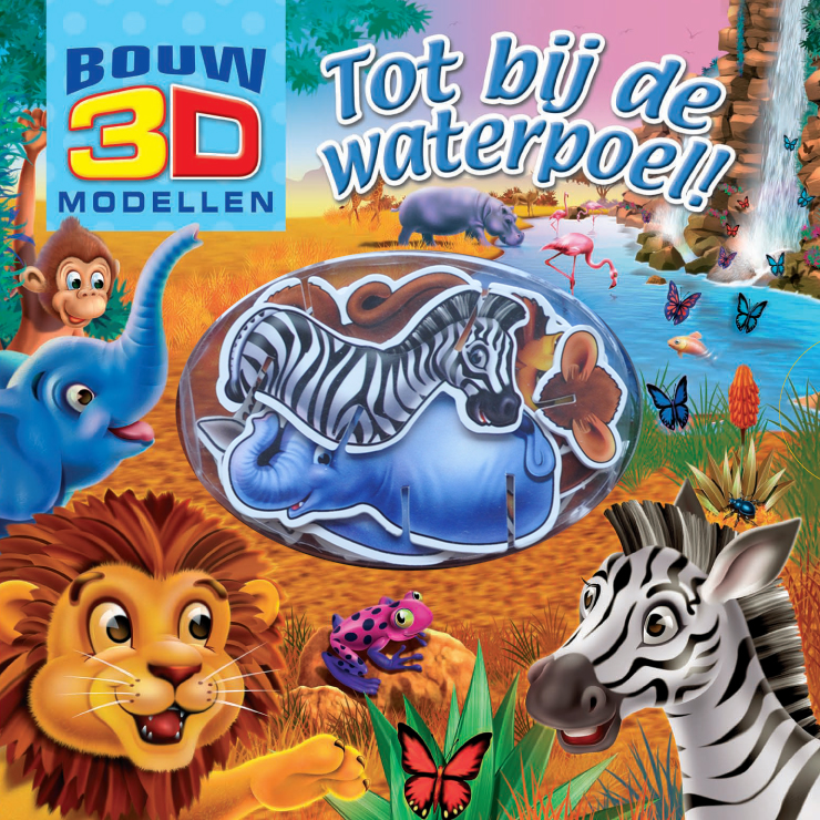 Bouw 3D Tot bij de waterpoel
