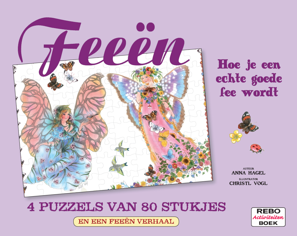 Puzzelboek-Feeen