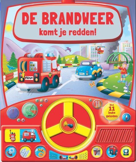 Geluidboek Brandweer komt je redden