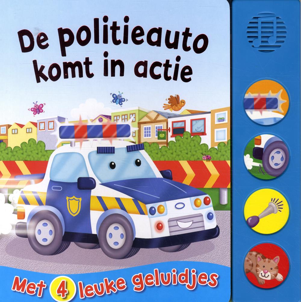 Geluidboek Politieauto in actie
