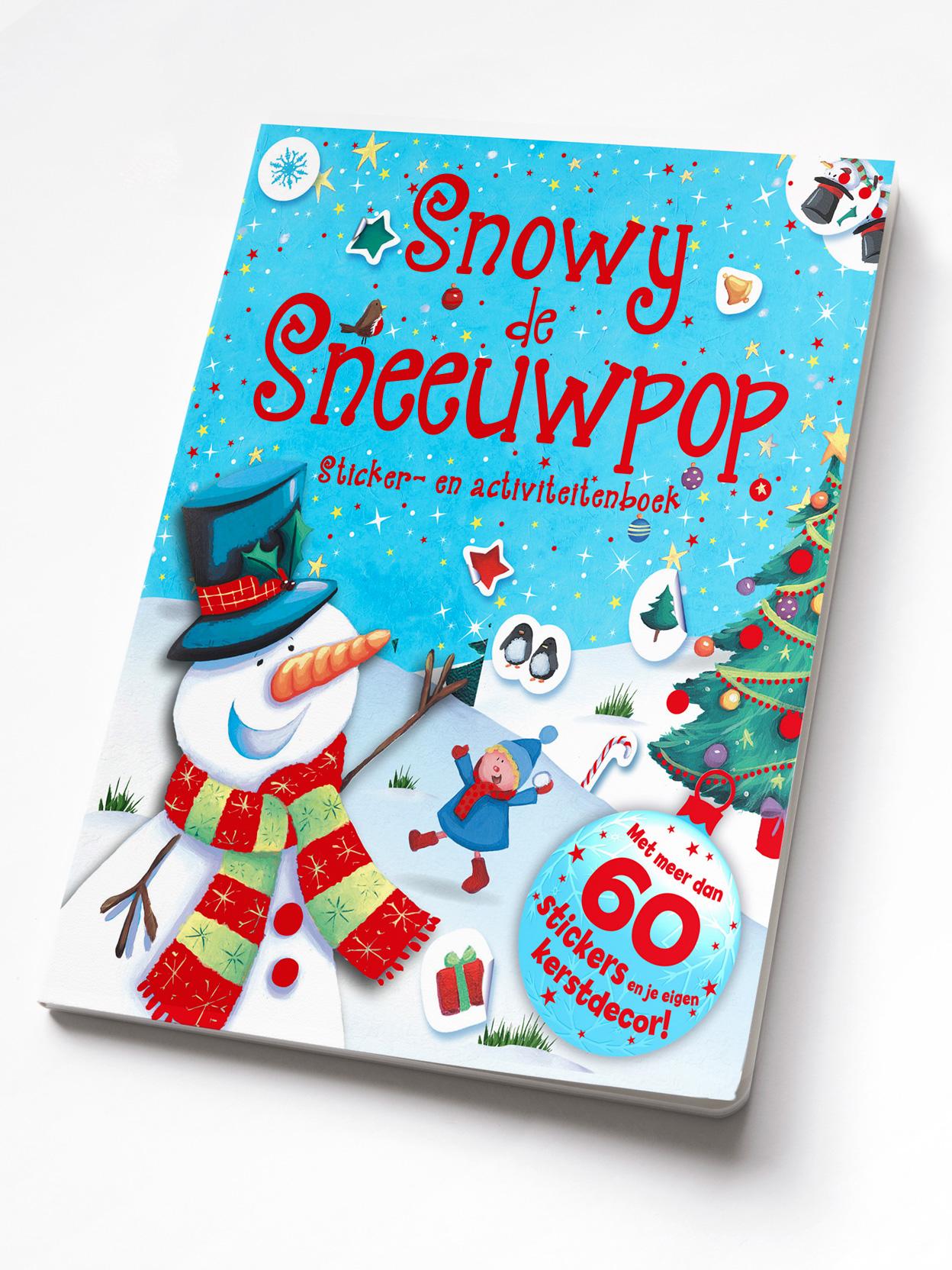 Pakket Snowy De Sneeuwpop-Santa'S S