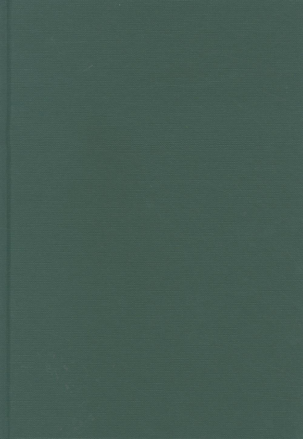Blanco boek A4 Groen