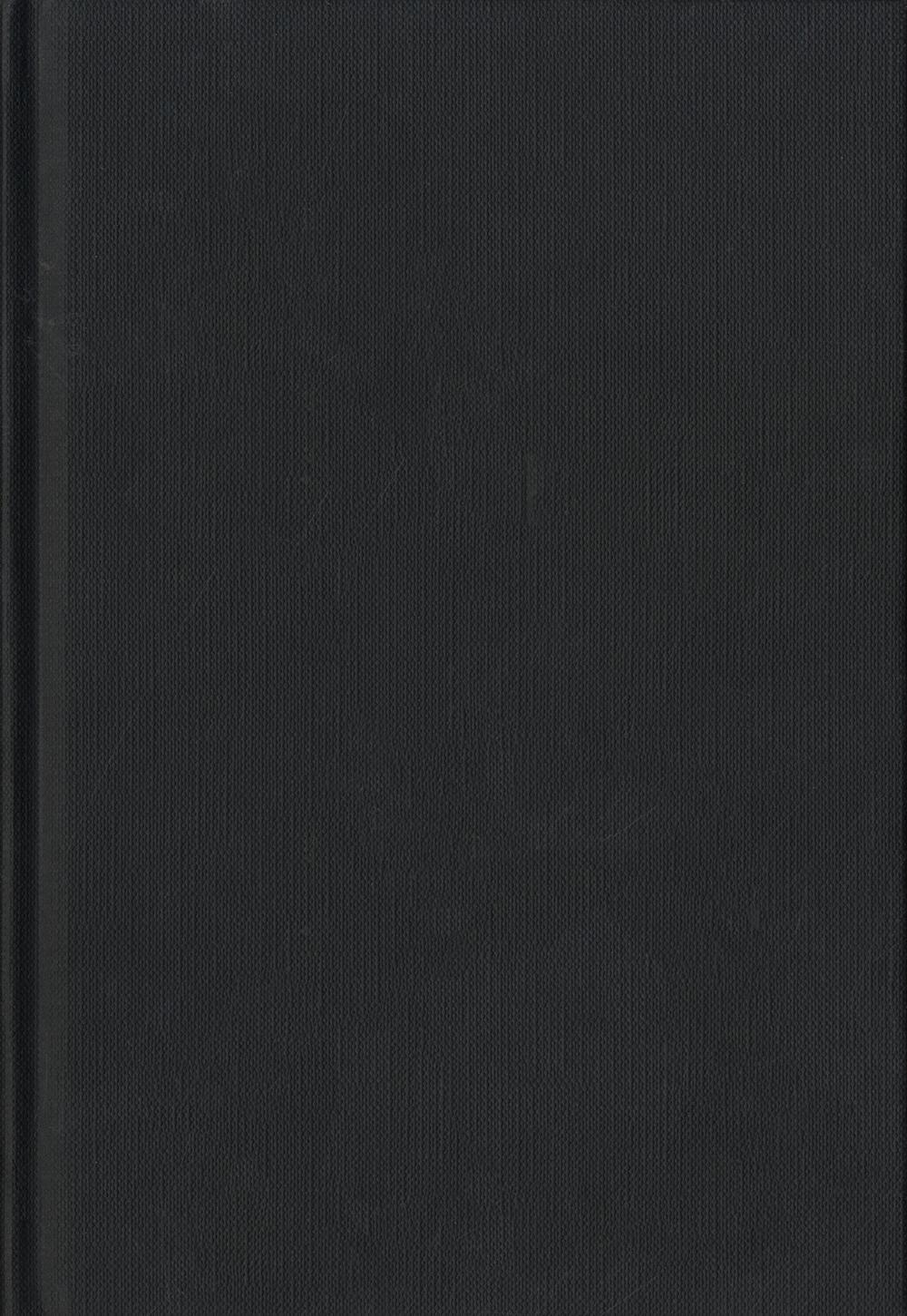 Blanco boek A5 Zwart