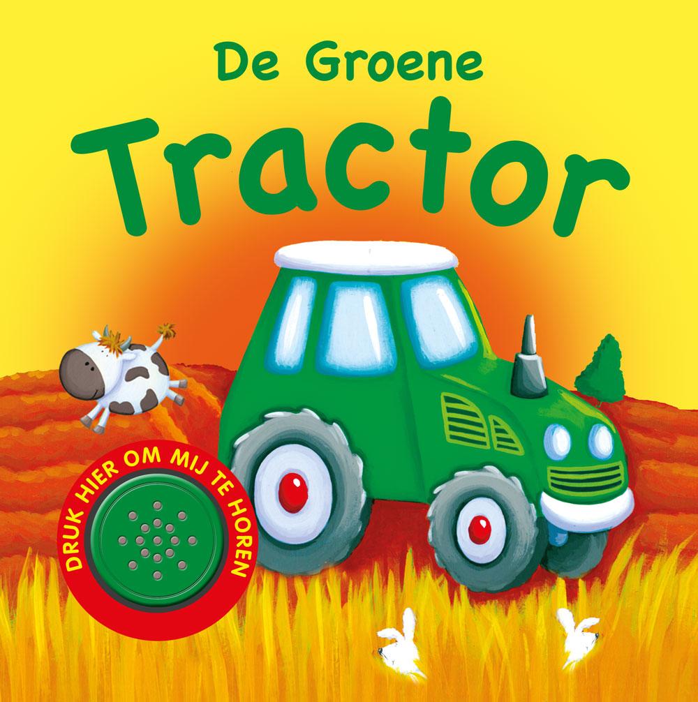 1 geluidboek Groene tractor