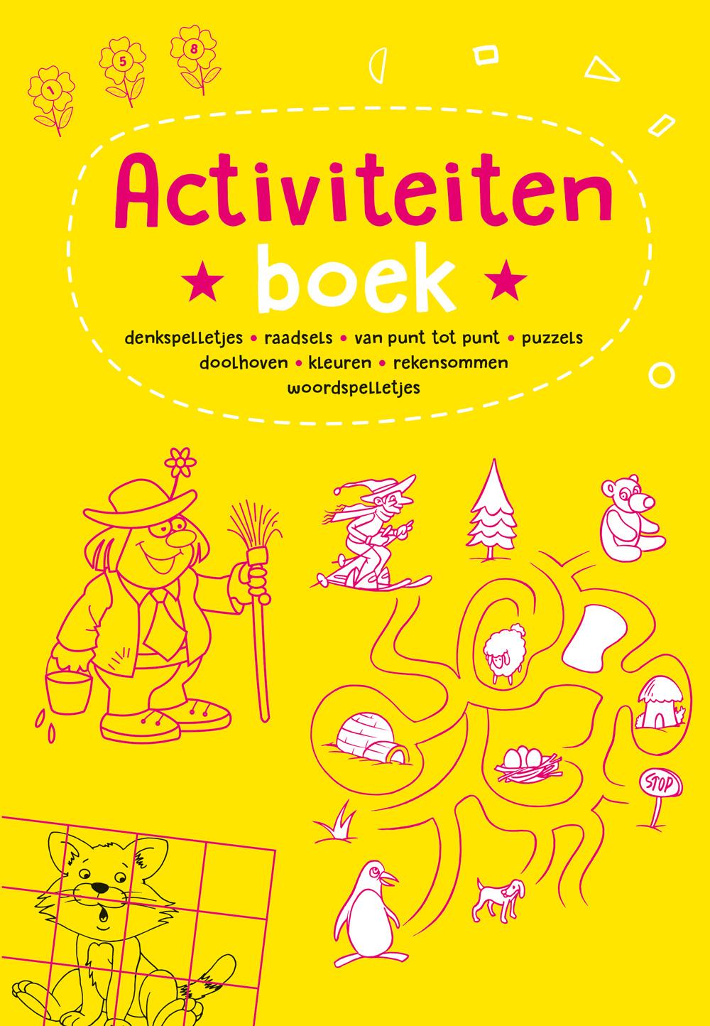 Activiteitenboek geel
