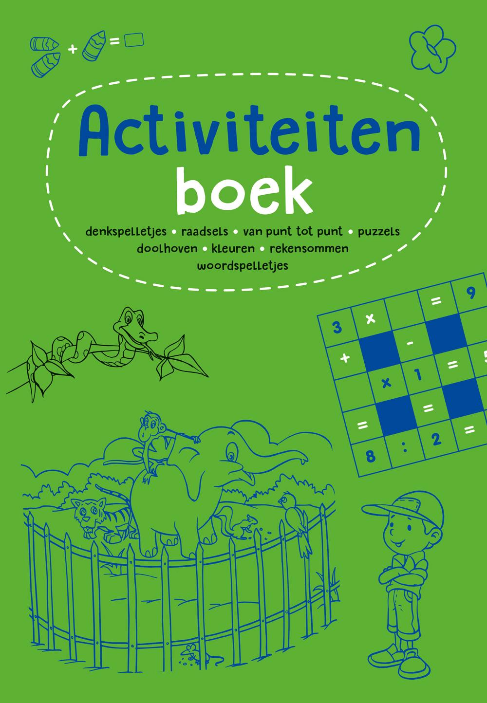 Activiteitenboek groen