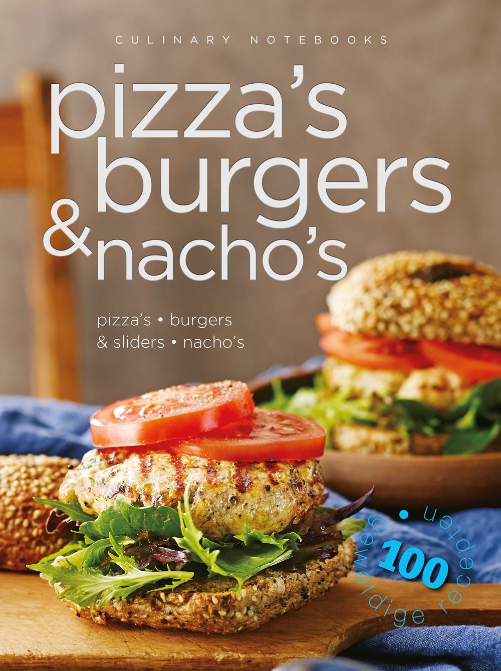 Culinary notebooks Pizza,burgers,