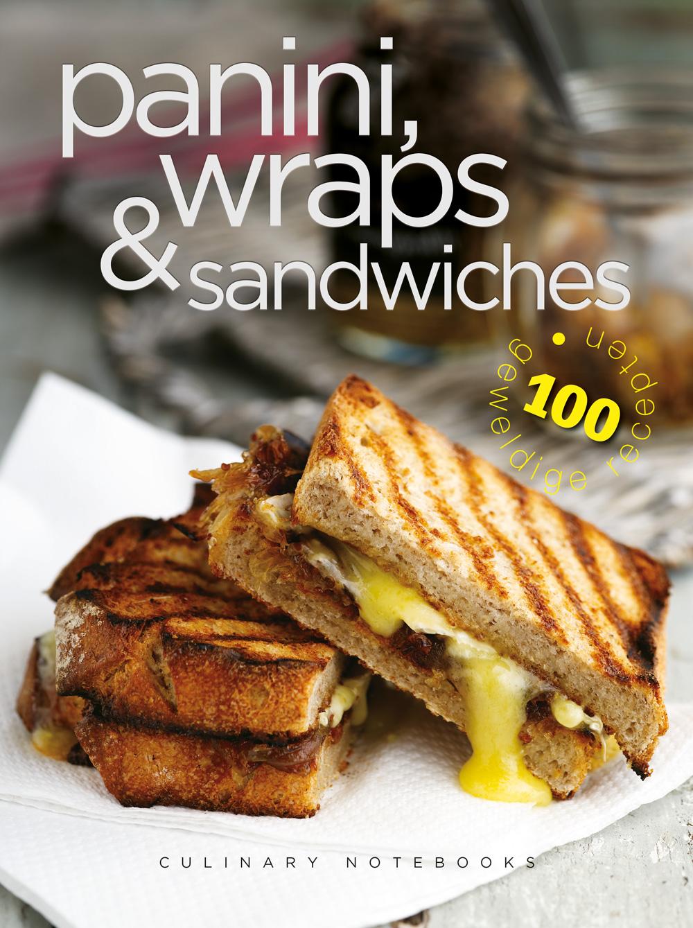 Culinary notebooks Panini,wraps&san