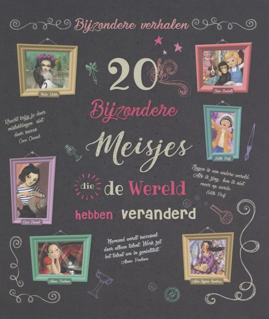 20 bijz. meisjes wereld veranderd
