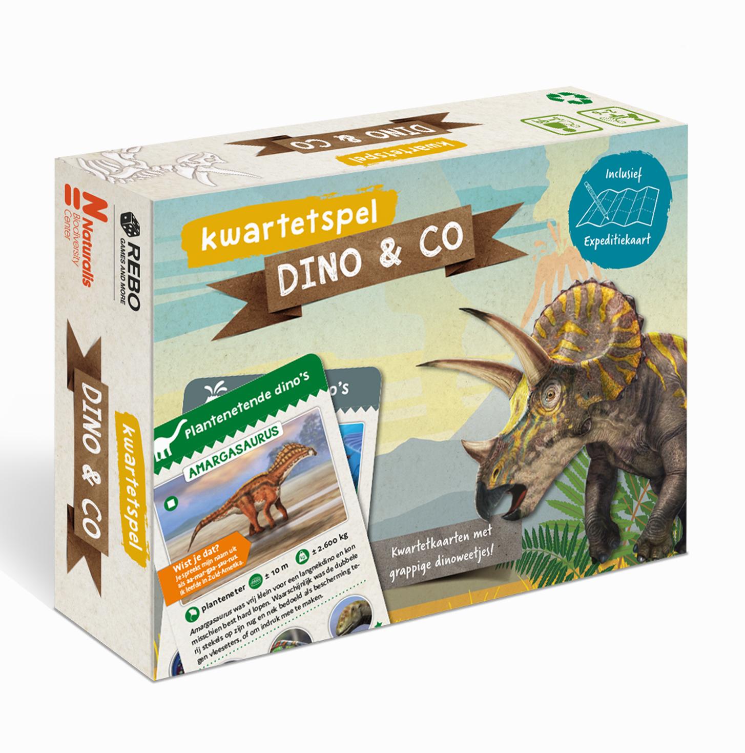 Kwartetspel Dinosauriërs
