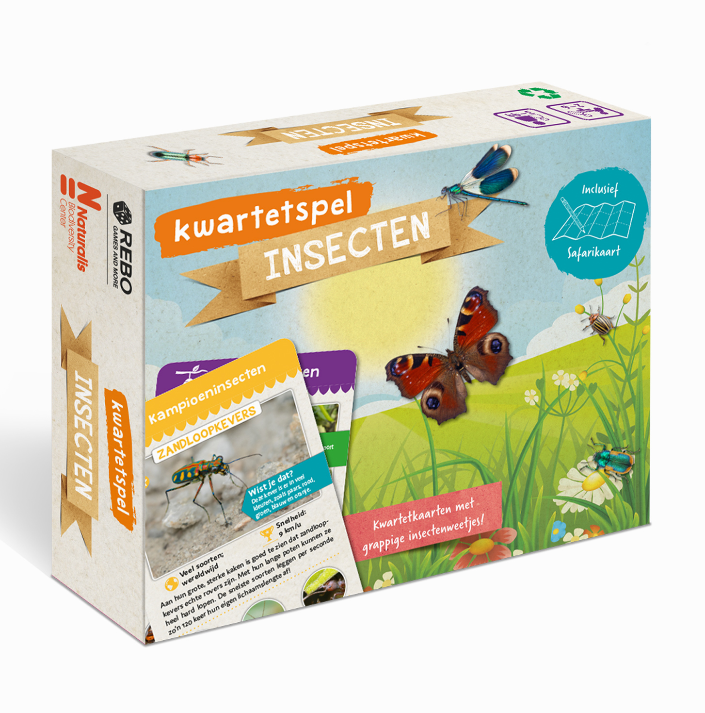 Kwartetspel Insecten