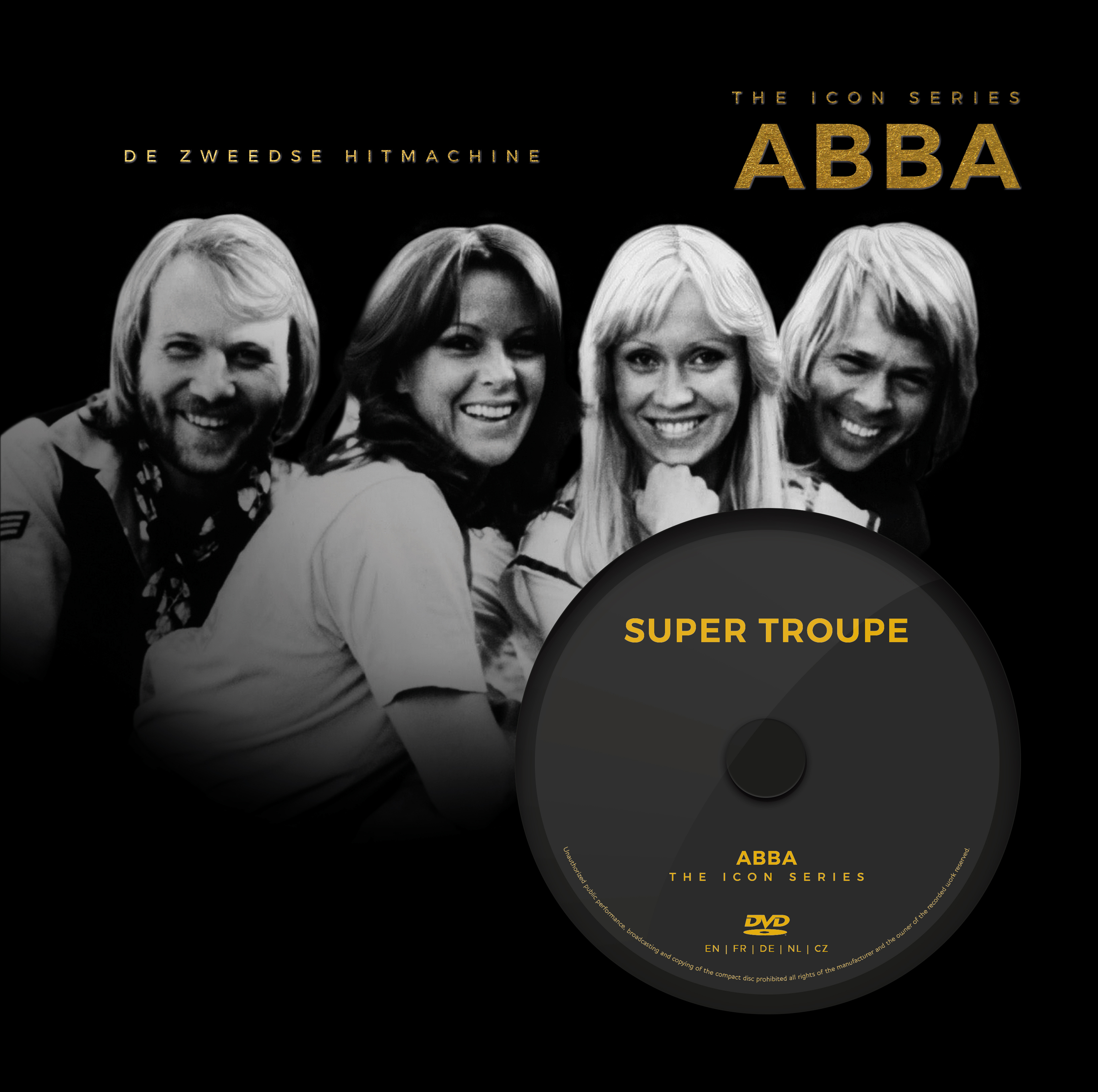 Abba-Icon series + DVD