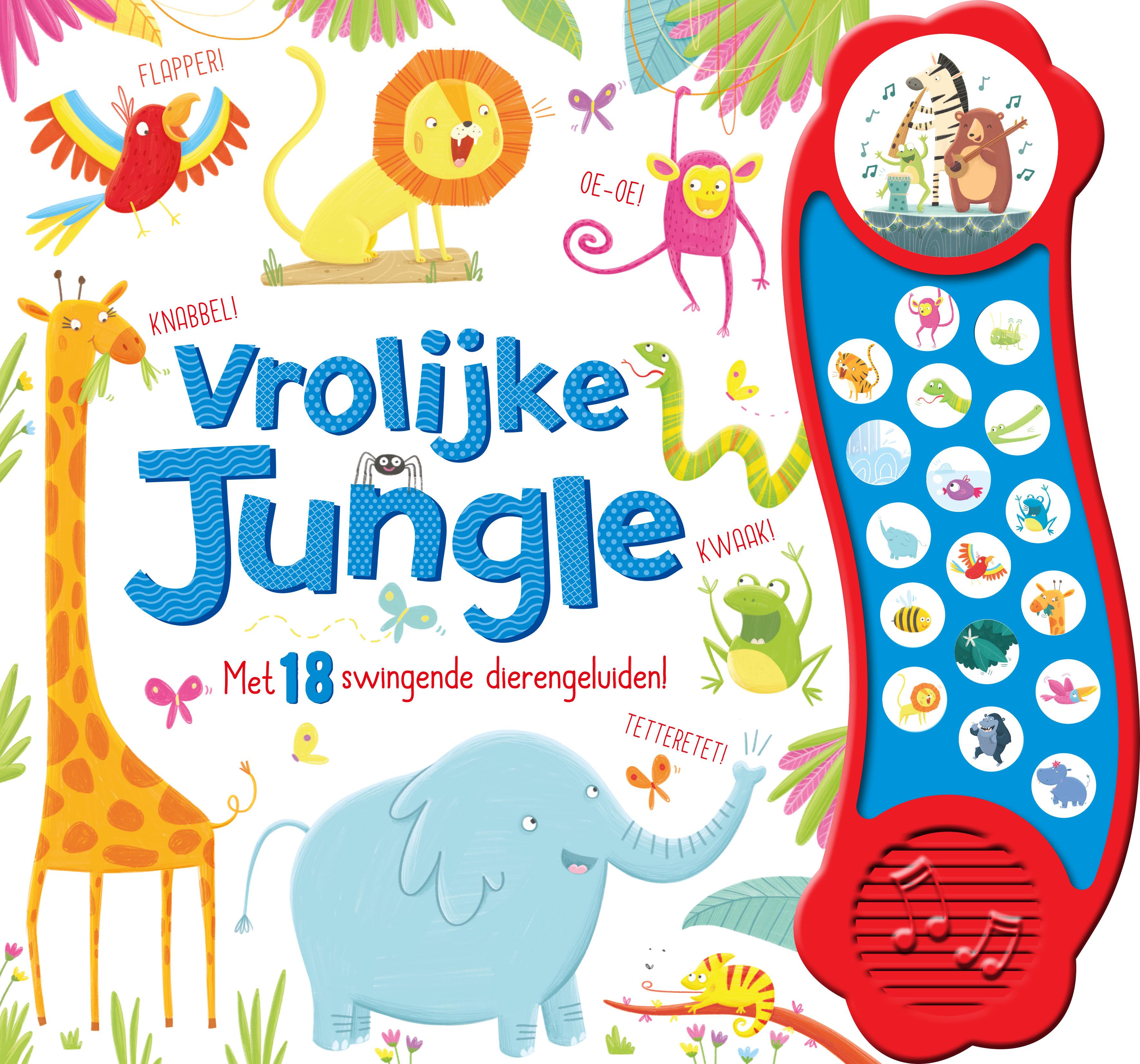 Geluidboek Vrolijke jungle