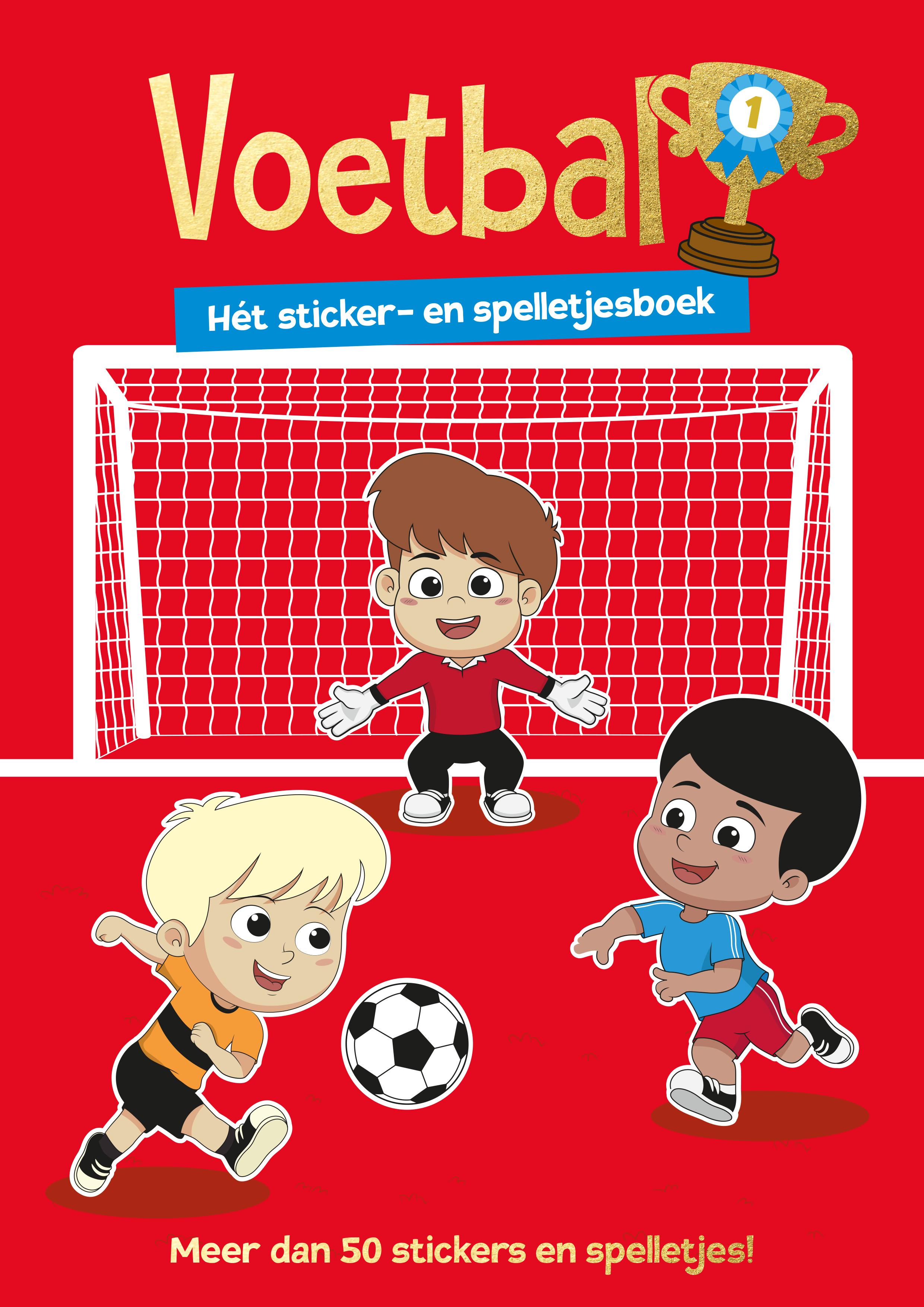 Voetbal - sticker- en activiteiten