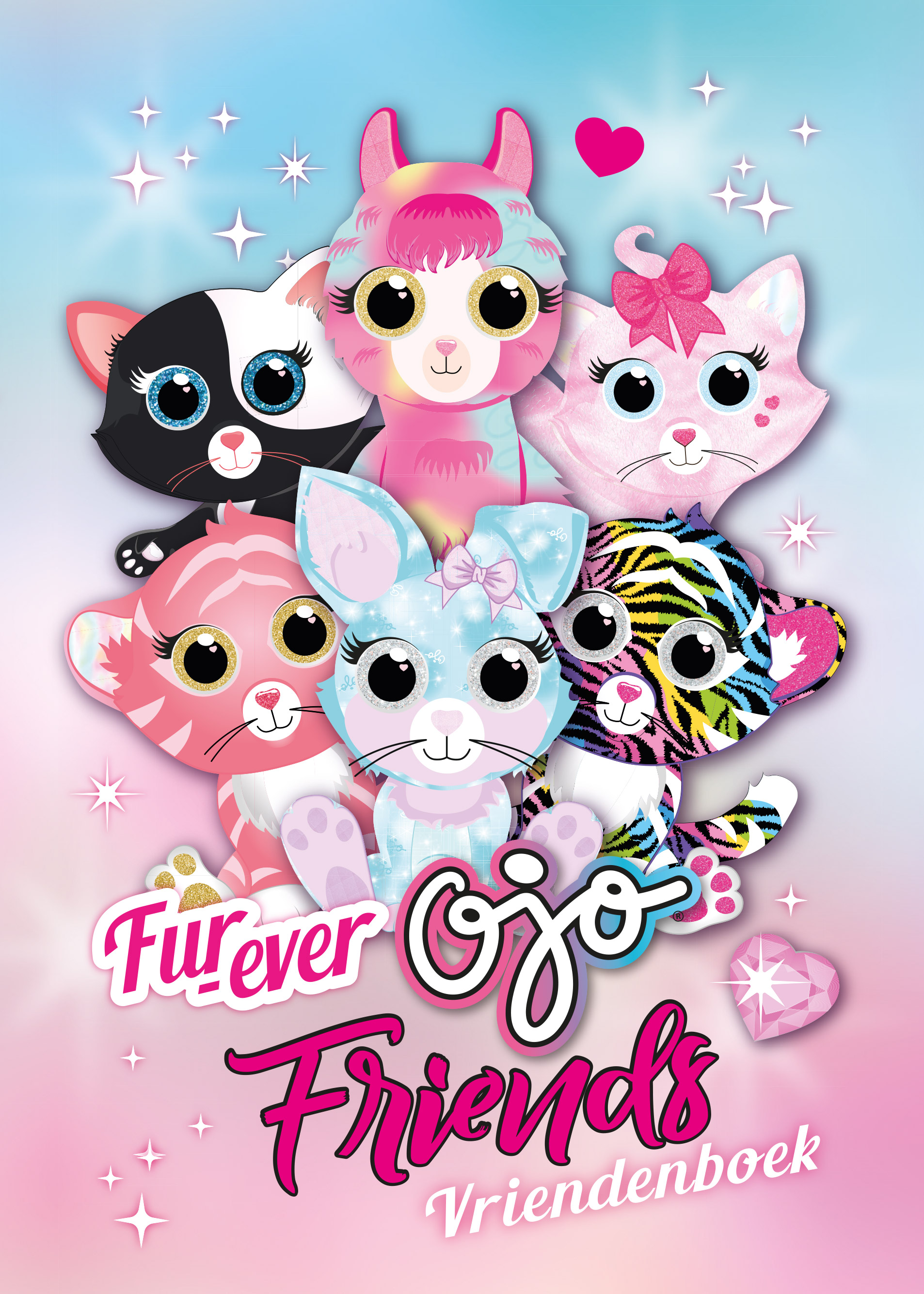 Ojo fur-ever friends vriendenboek
