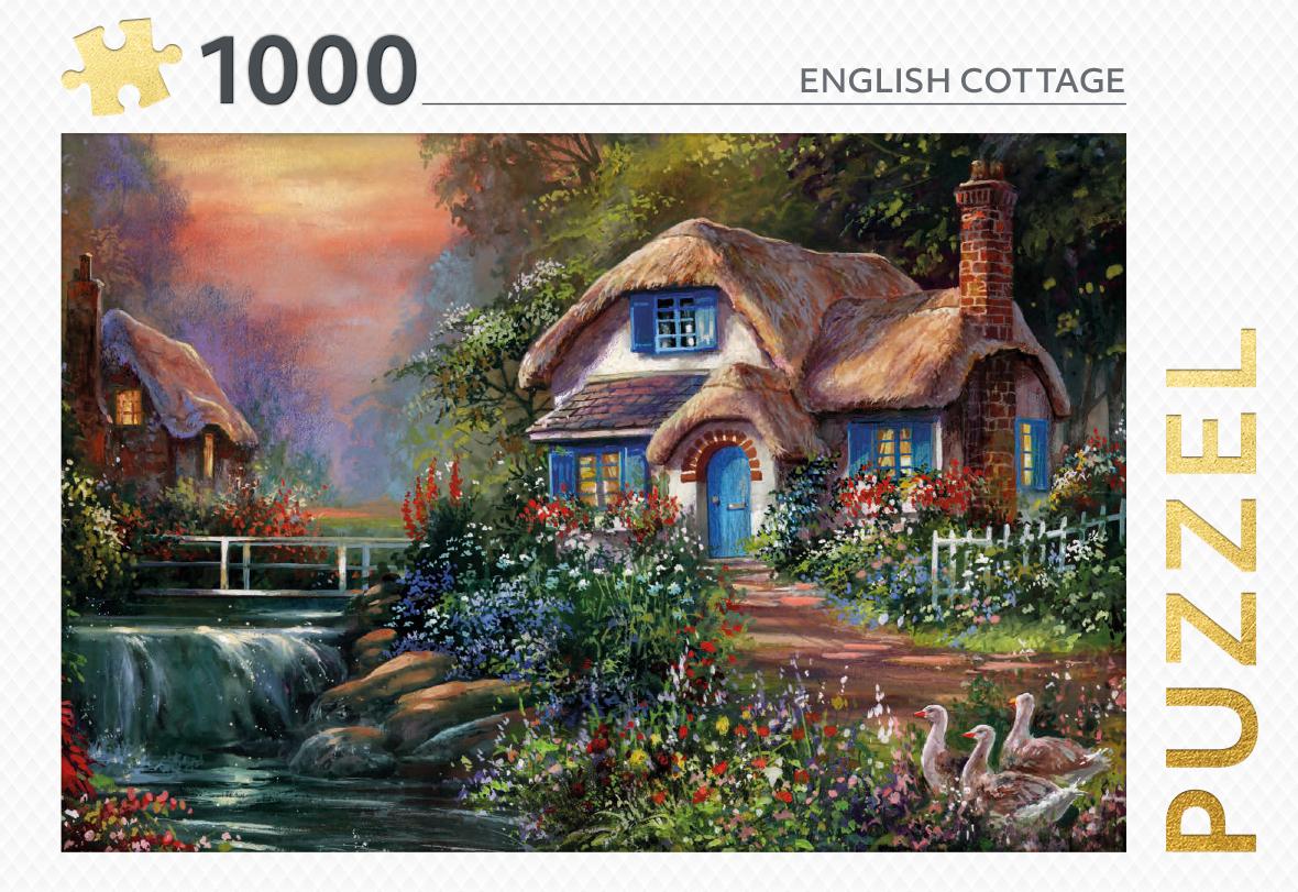 English cottage - puzzel 1000 st