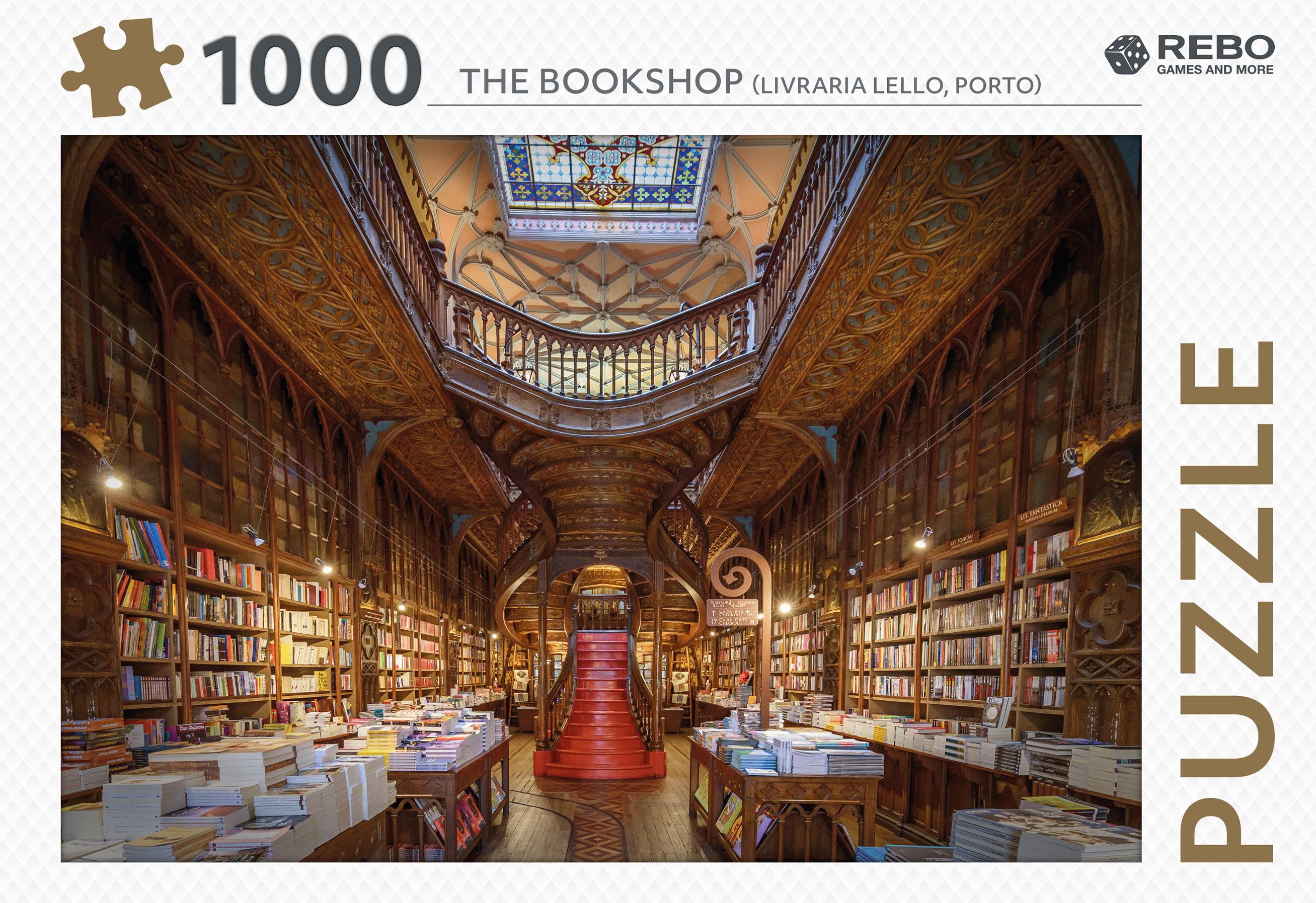 The Bookshop - puzzel 1000 st