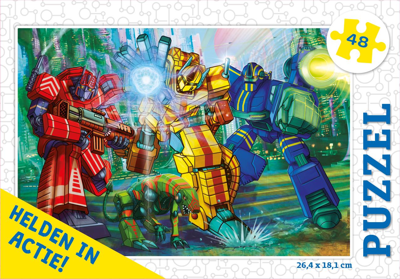 Helden in actie! - puzzel 48 st