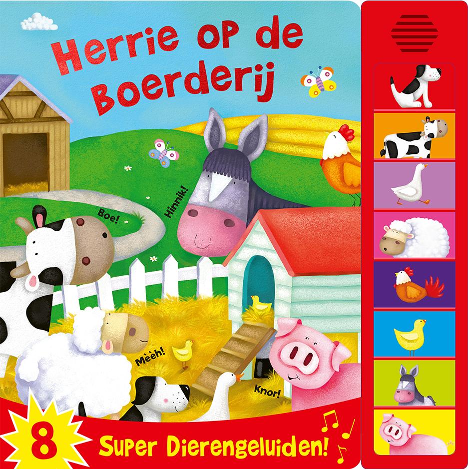 Geluidenboek Herrie op de boerderij