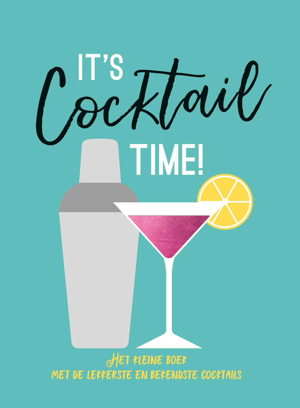 It's cocktail time - Cadeauboeken