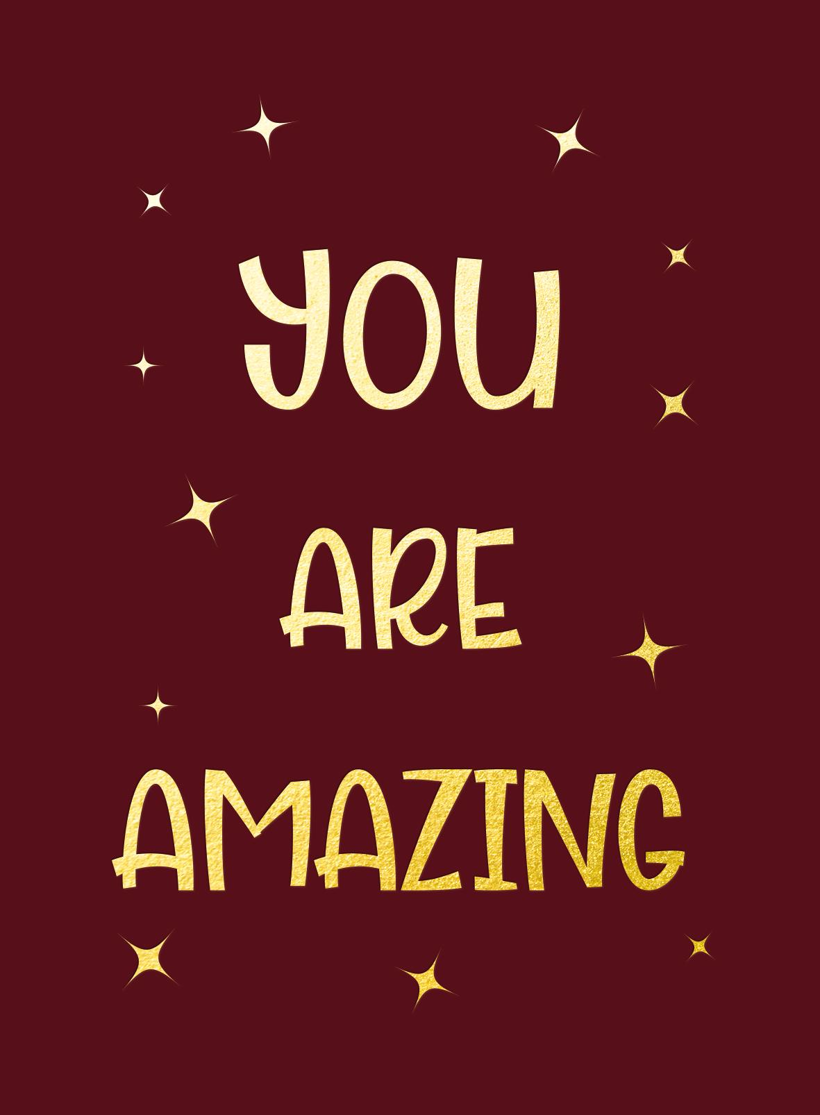 You are amazing - Cadeauboeken