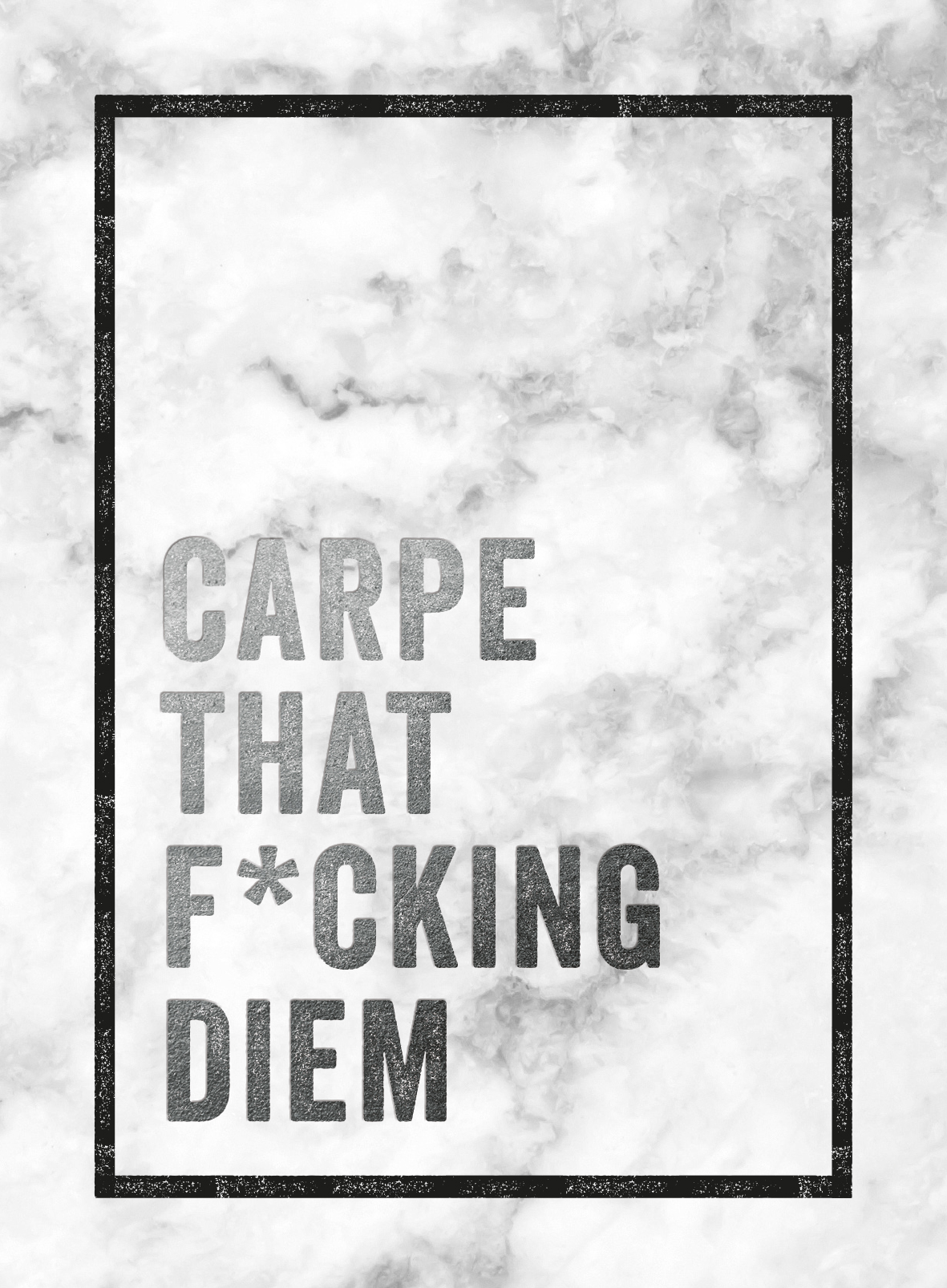 Carpe that f*cking diem - Cadeau