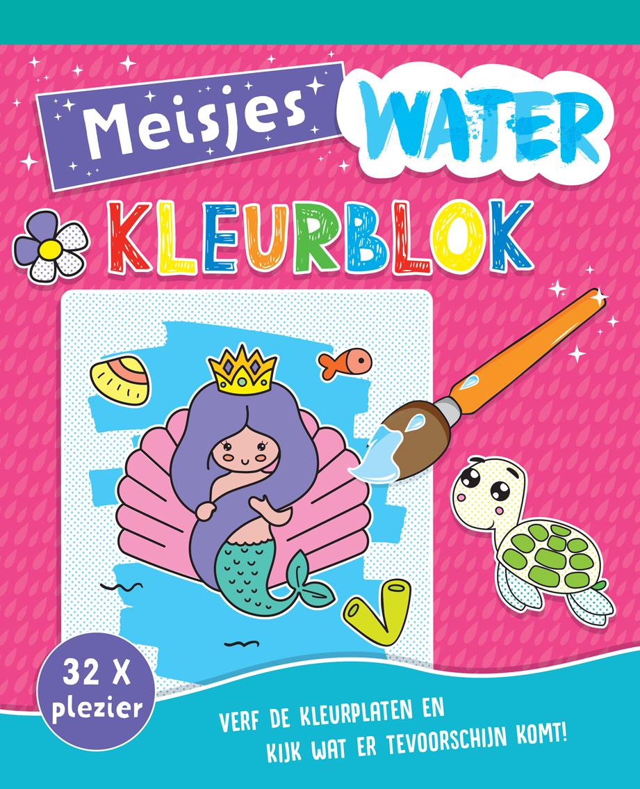 Waterkleurblok Meisjes