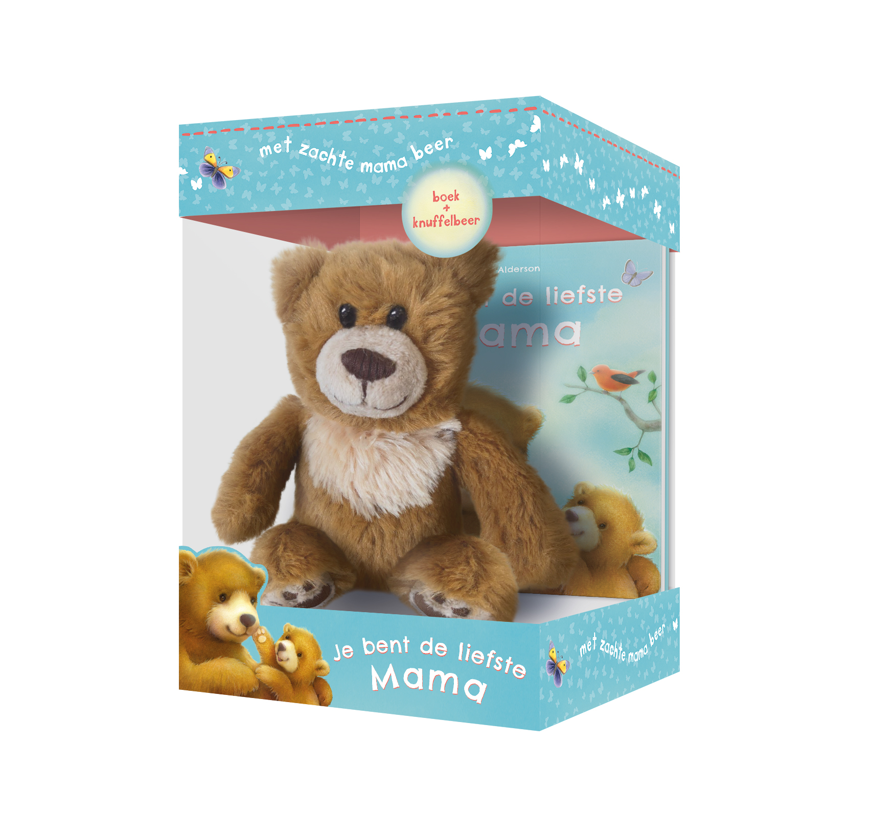Liefste mama - boek & knuffelbeer