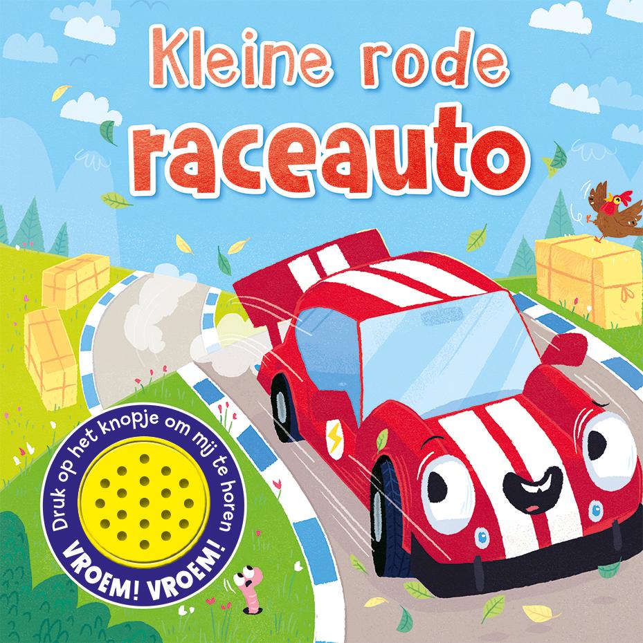 1 Geluidboek kl. rode raceauto